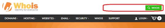 سایت WHOIS.COM