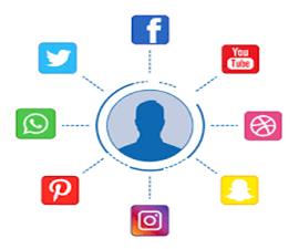 استفاده از شبکه های اجتماعی درسایت رستوران