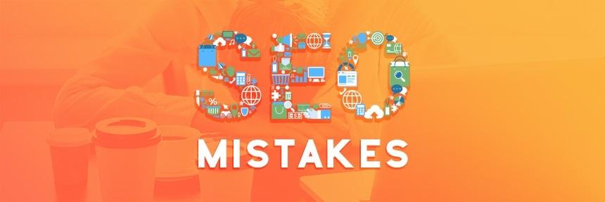اشتباهات رایج سئو