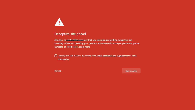 رفع مشکل وب سایت آلوده به بدافزار